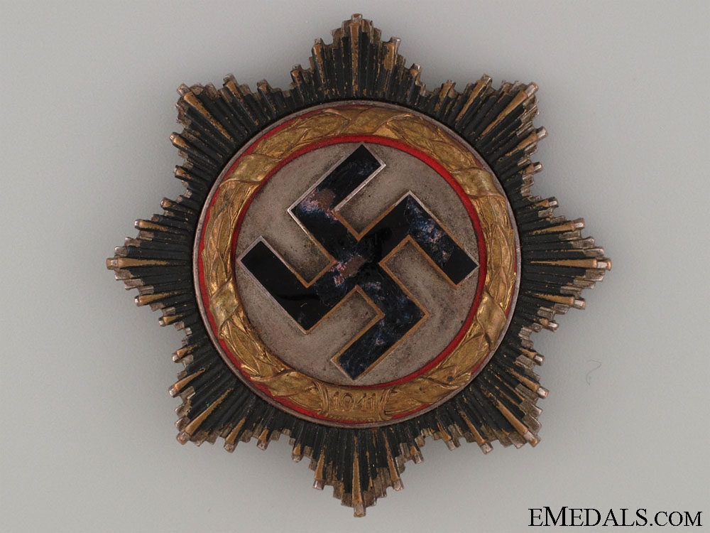 eMedals-A German Cross in Gold by C.E. Juncker