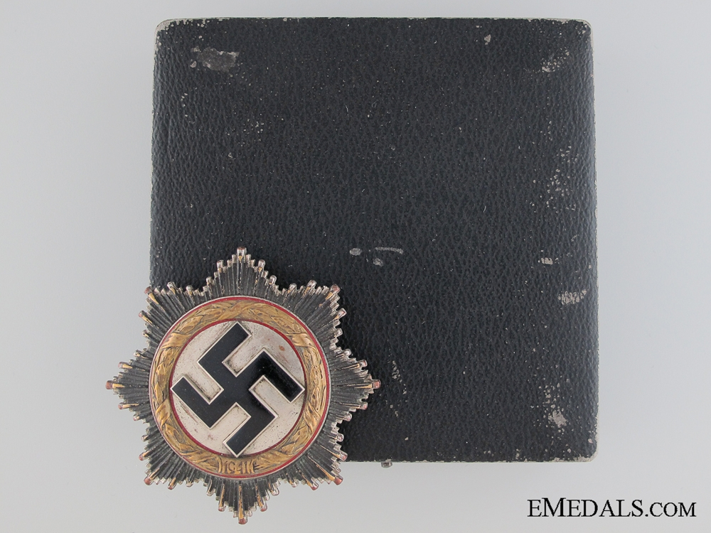 eMedals-A German Cross in Gold by Zimmermann
