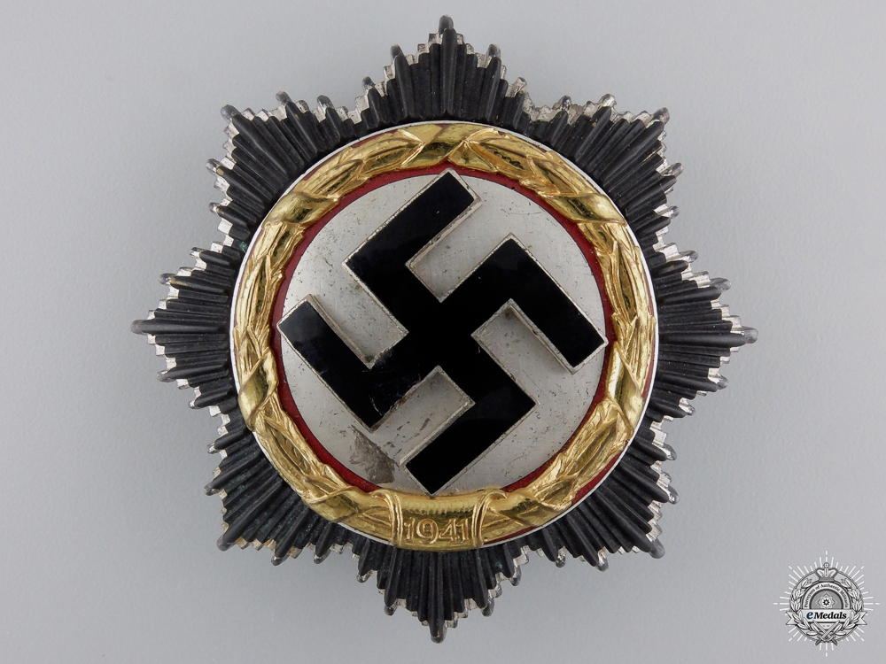 eMedals-A German Cross in Gold by Gebrüder Godet & Co; Heavy Version