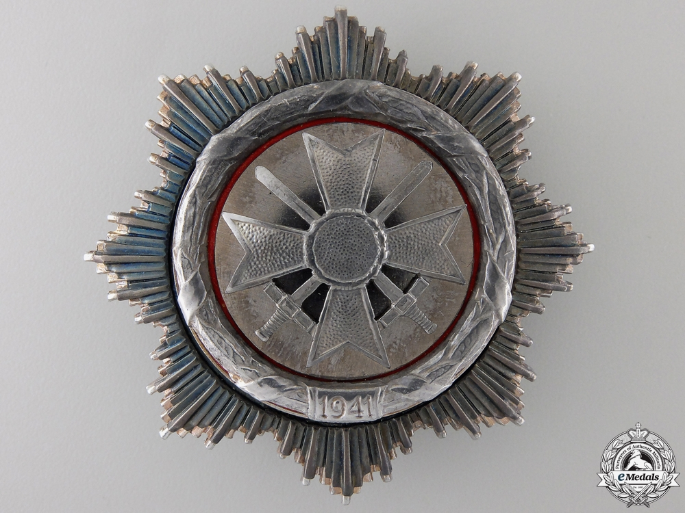 eMedals-A German Cross in Silver; 1957 Version