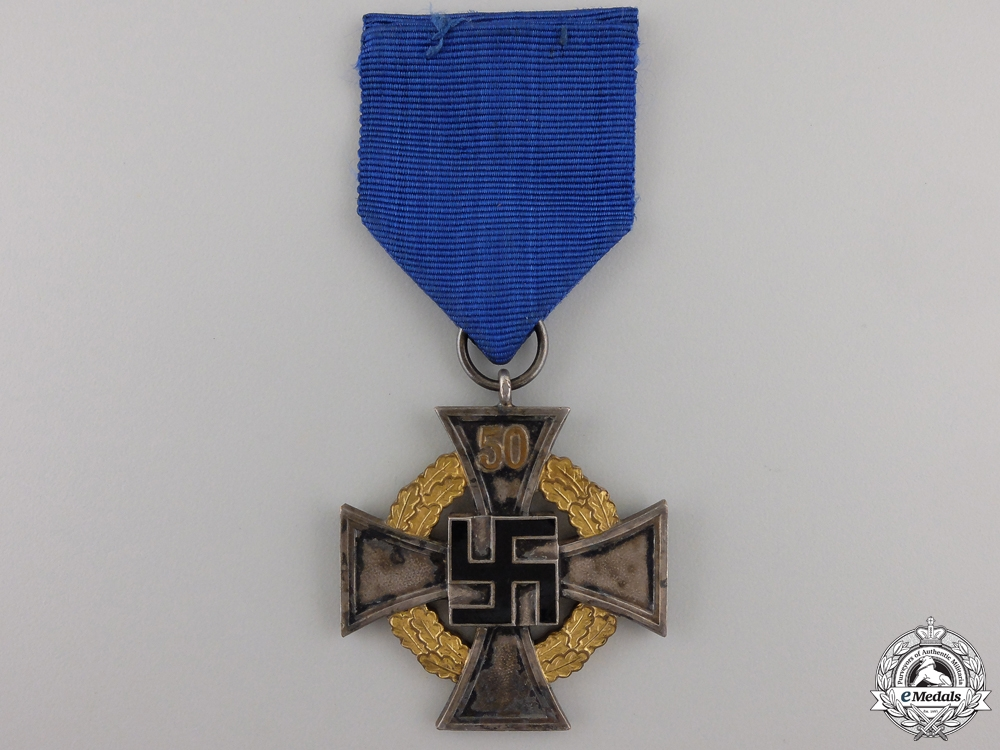 eMedals-A German Faithful Service Cross; First Class