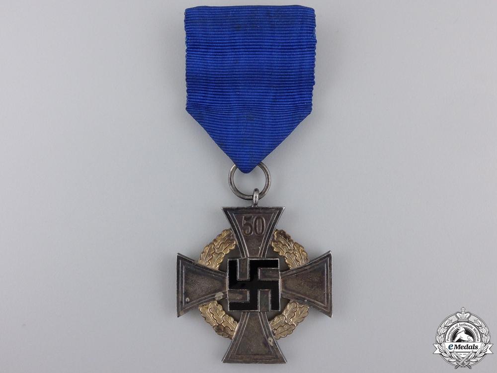 eMedals-A German Faithful Service Cross; First Class