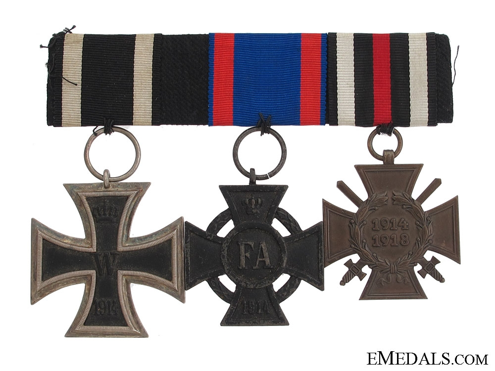 eMedals-A German First War Group of Three