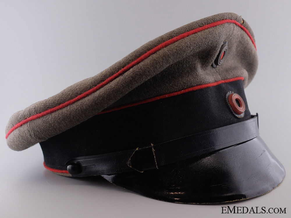 eMedals-A German First World War Wurttenberg Artillery Visor Cap  CONSIGN 4