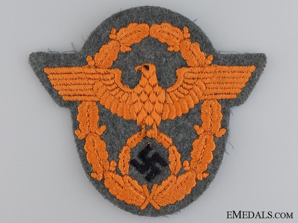 eMedals-A German Gendarmerie NCO's Sleeve Eagle