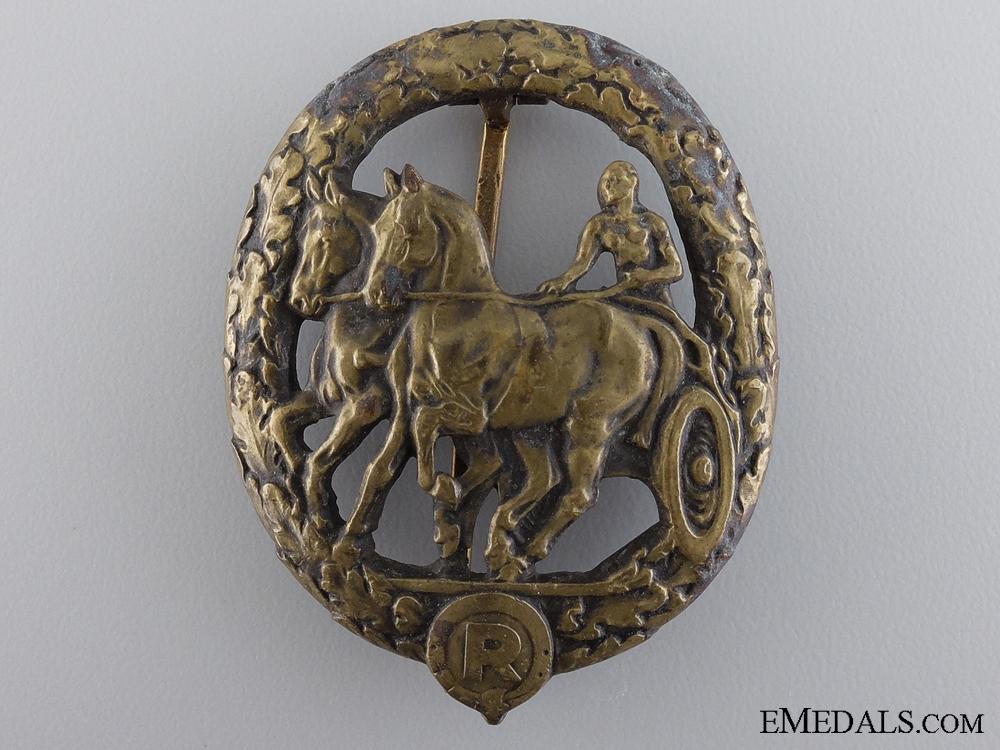 """eMedals-A German Horse Driver""""¢¯s Badge"""