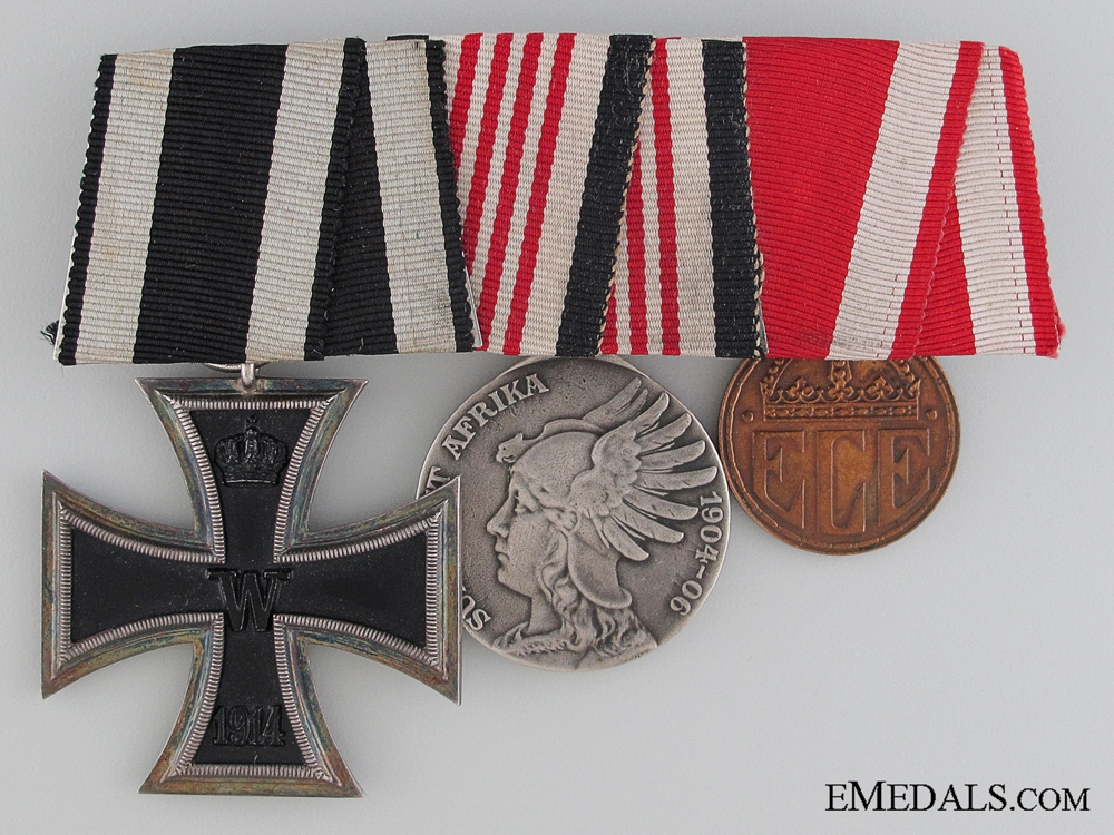 eMedals-A German Imperial Medal Bar   Consignment