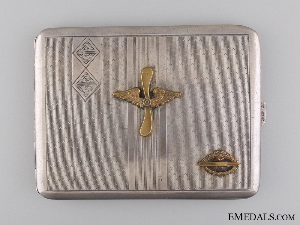 eMedals-A German Imperial Army Zeppelin (Luftschiff) Veteran's Case