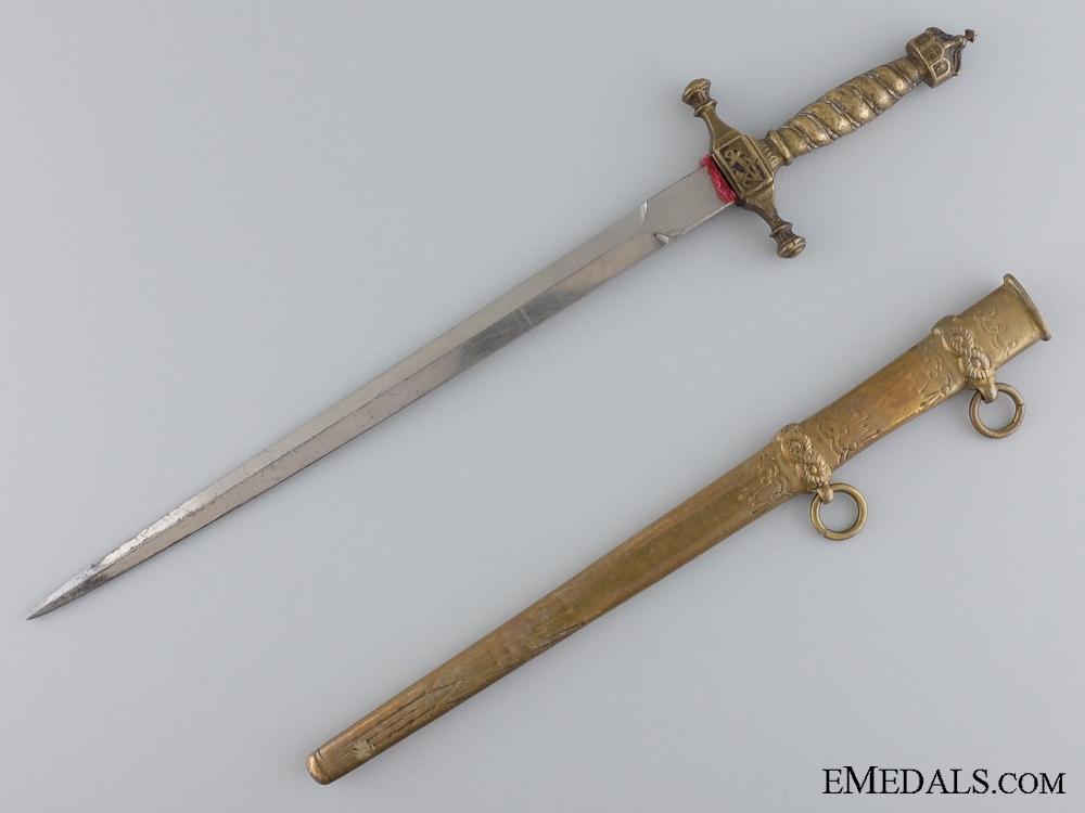 eMedals-A German Imperial Kreigsmarine Officer's Miniature Dagger