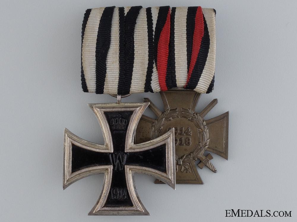 eMedals-A German Imperial Service Pair; Deutsches Reichsgebrauchsmuster