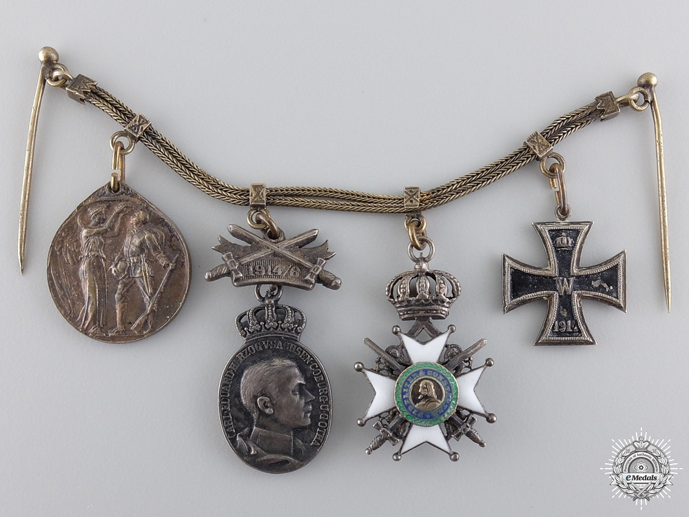 eMedals-A German Imperial Miniature Group of Four Awards
