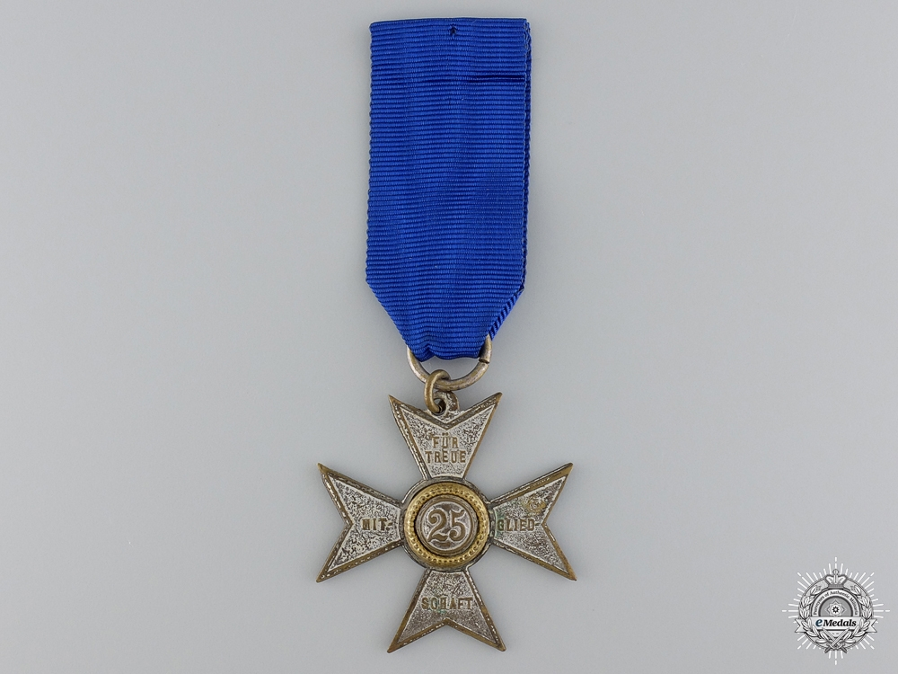 eMedals-A German Imperial Twenty-Five Year Loyal Service Medal