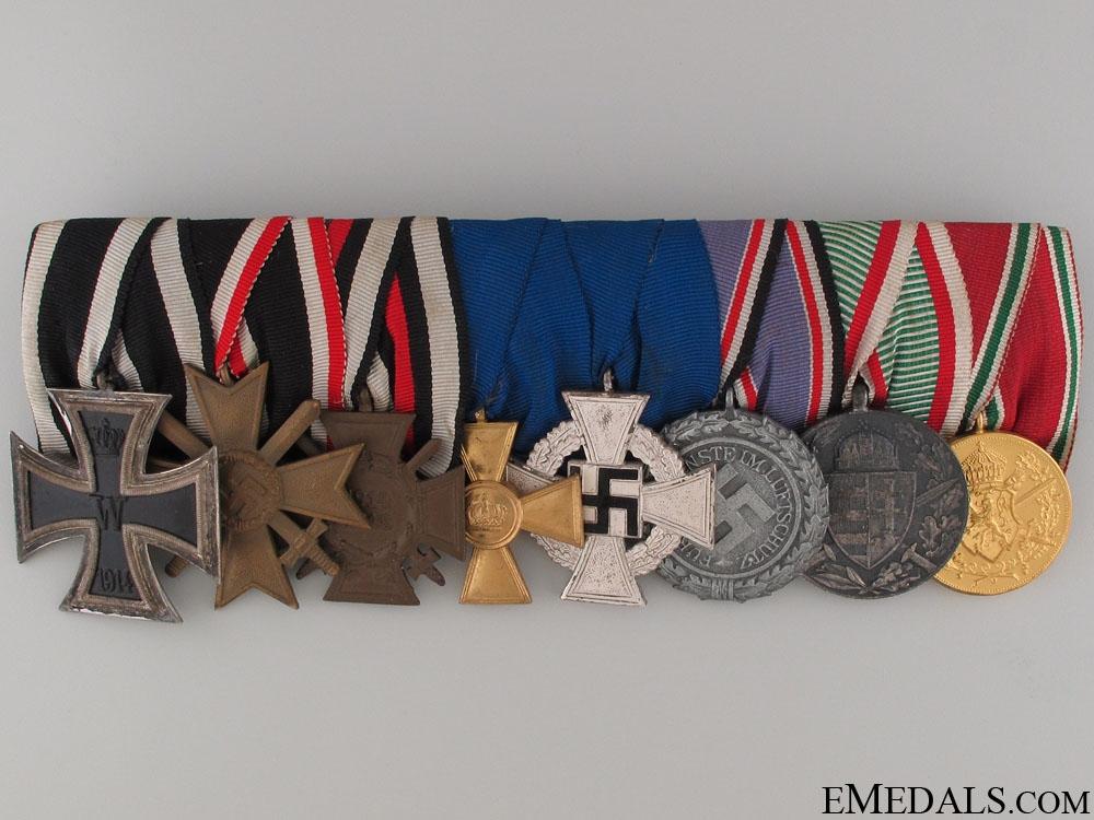 eMedals-A German Long Service Medal Bar