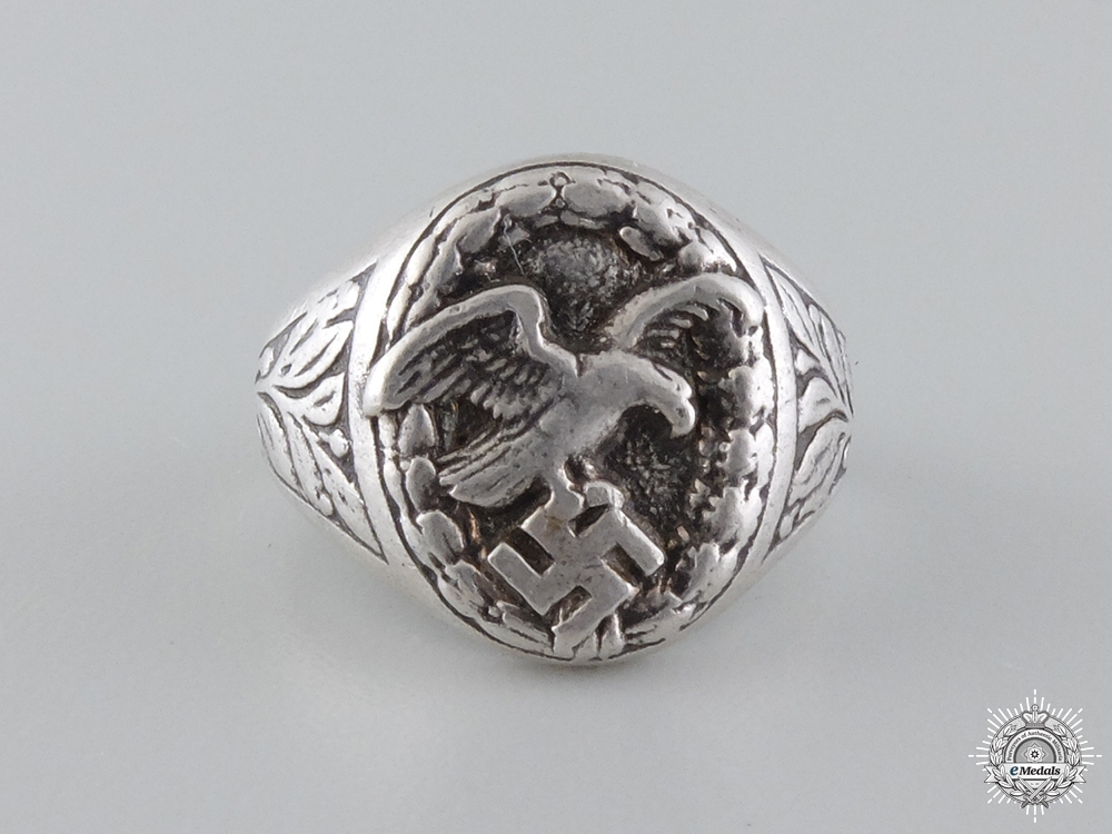 eMedals-A German Luftwaffe Observer's Ring