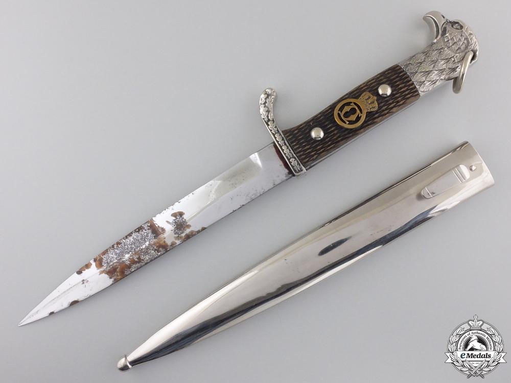 eMedals-A German Made Romanian Second War Army Officer's Dagger