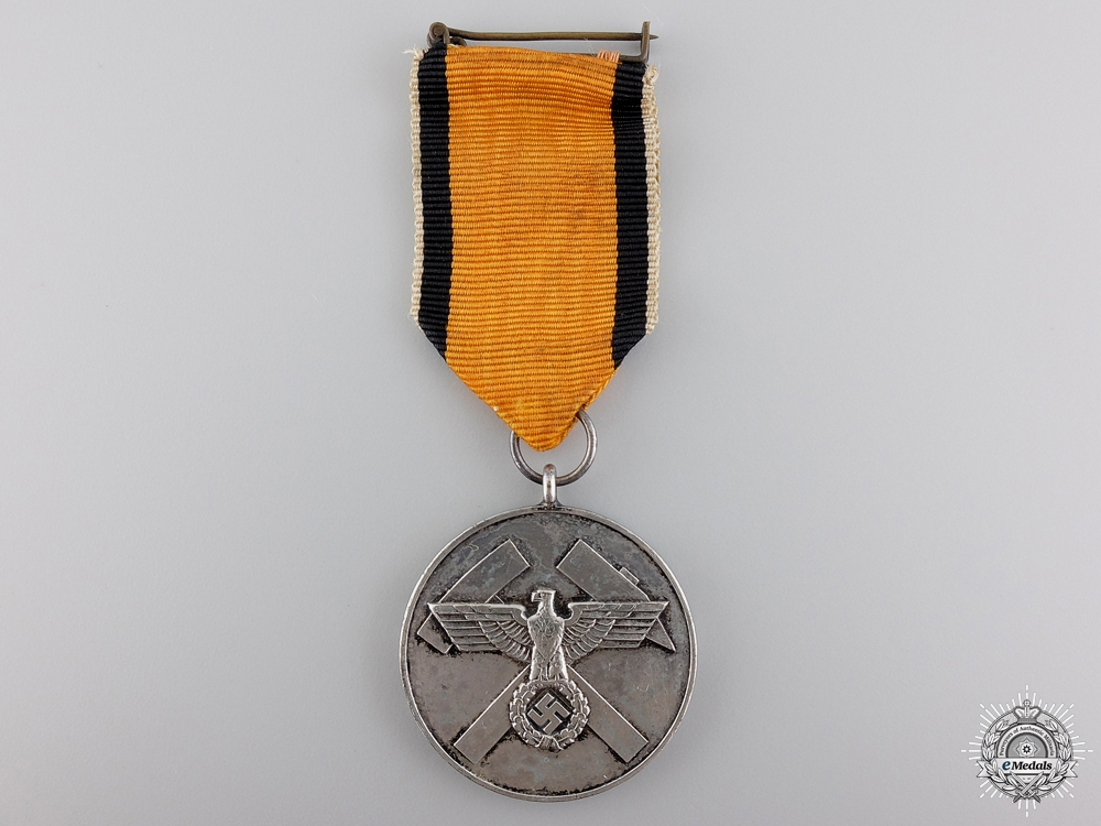 eMedals-A German Mine Rescue Honour Medal