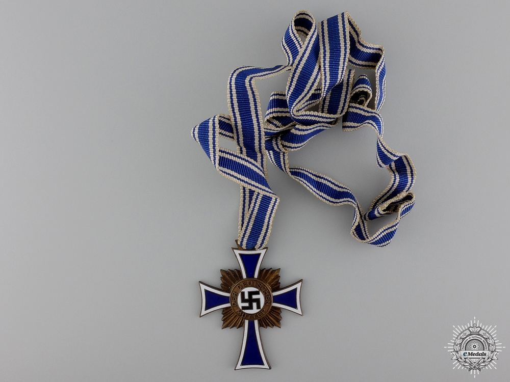 eMedals-A German Mother's Cross; Bronze Grade