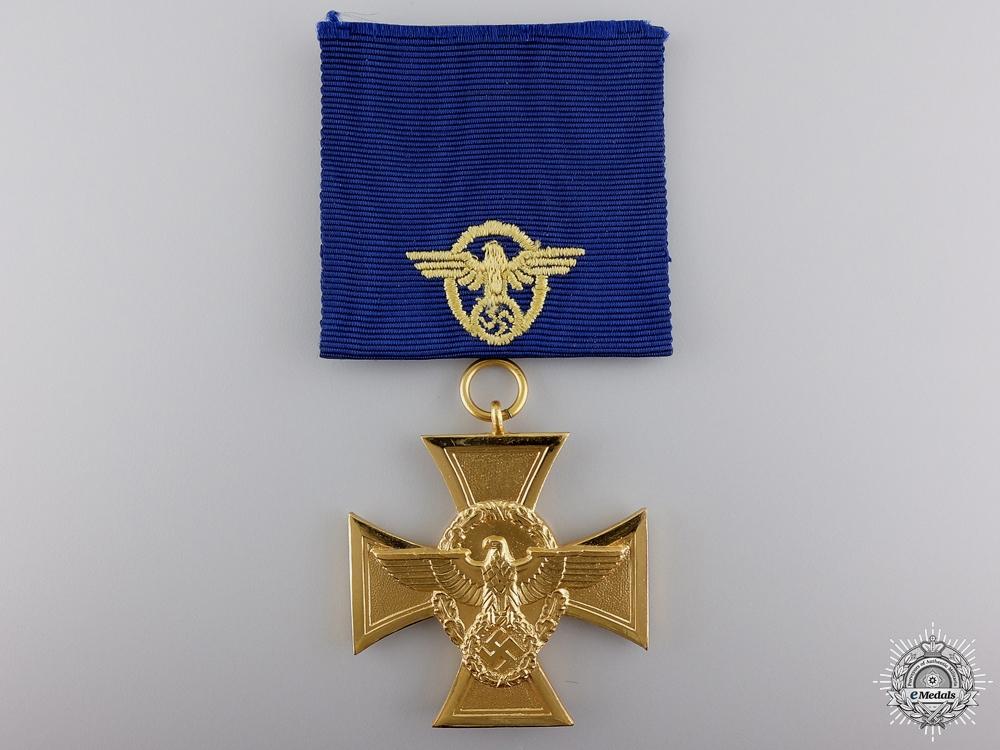 eMedals-A German Police Long Service Award; First Class
