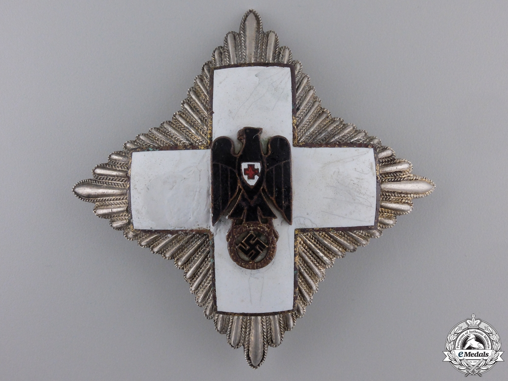 eMedals-A German Red Cross; Grand Cross Star (1937-39) by Godet