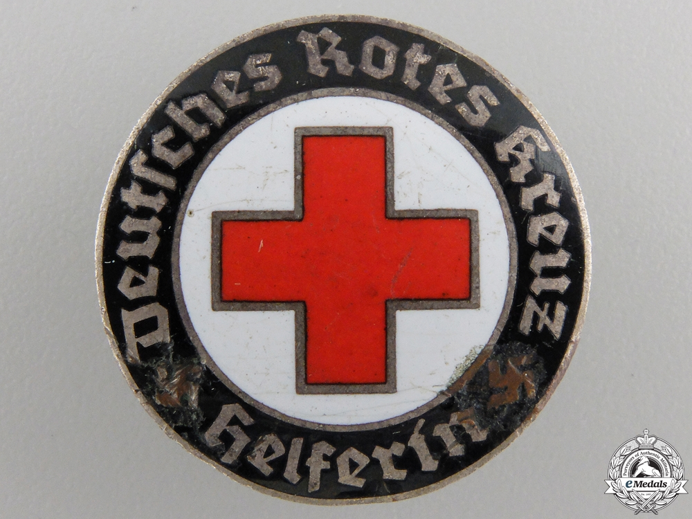 eMedals-A German Red Cross Badge