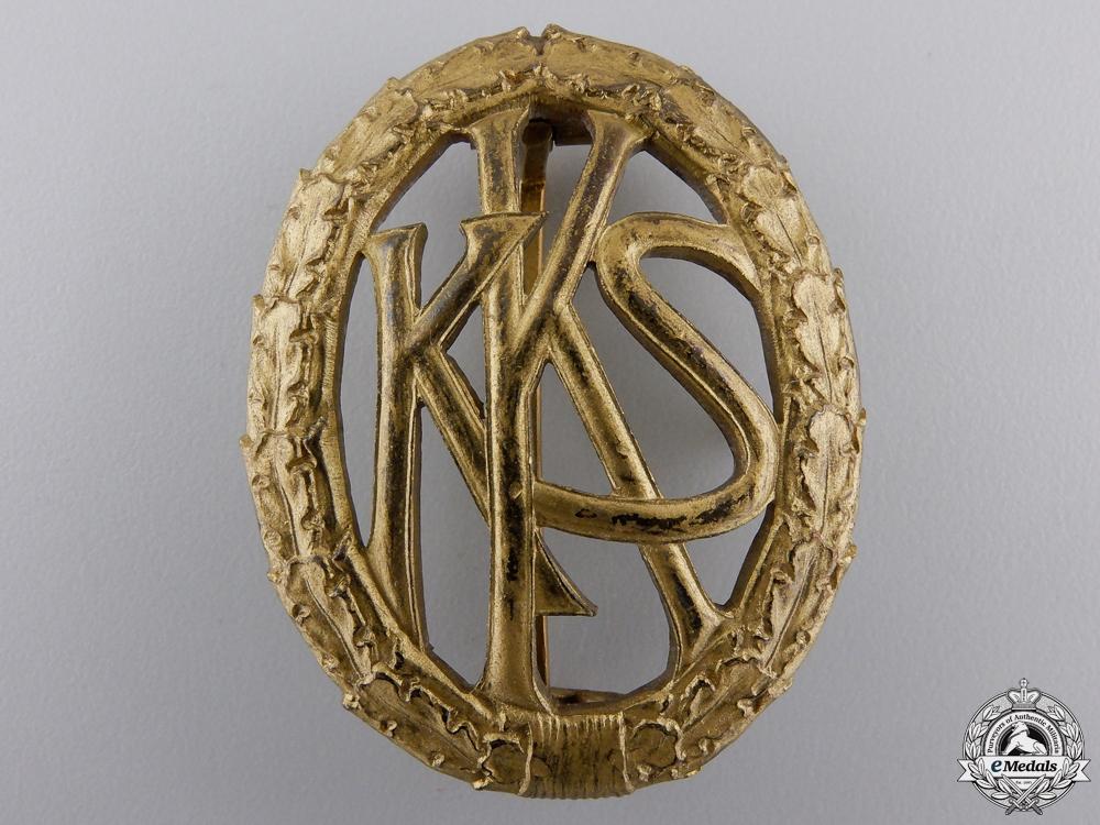 eMedals-A German Shooting Association (KKS) Badge