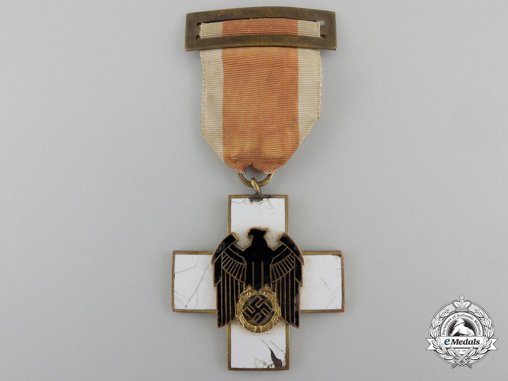 eMedals-A German Social Welfare Decoration; Spanish Recipient