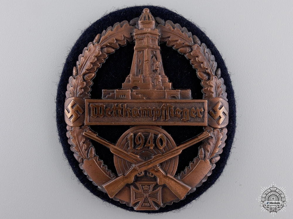 eMedals-A German State Soldier's Association Marksmanship Award