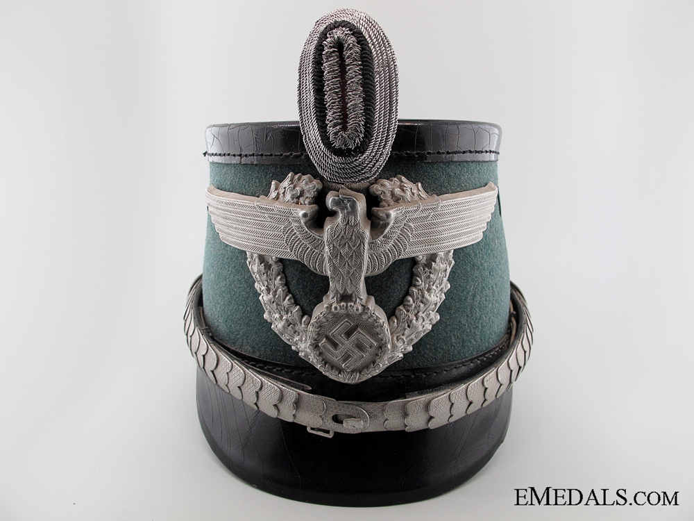 eMedals-A German Urban Police Officer's Shako