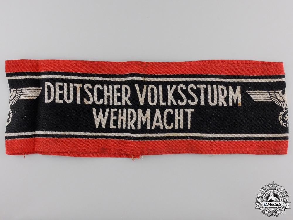 eMedals-A German Volkssturm Armband