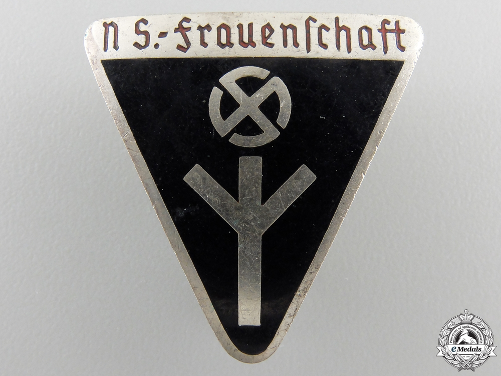 eMedals-A German Women's League Membership Badge; Type III