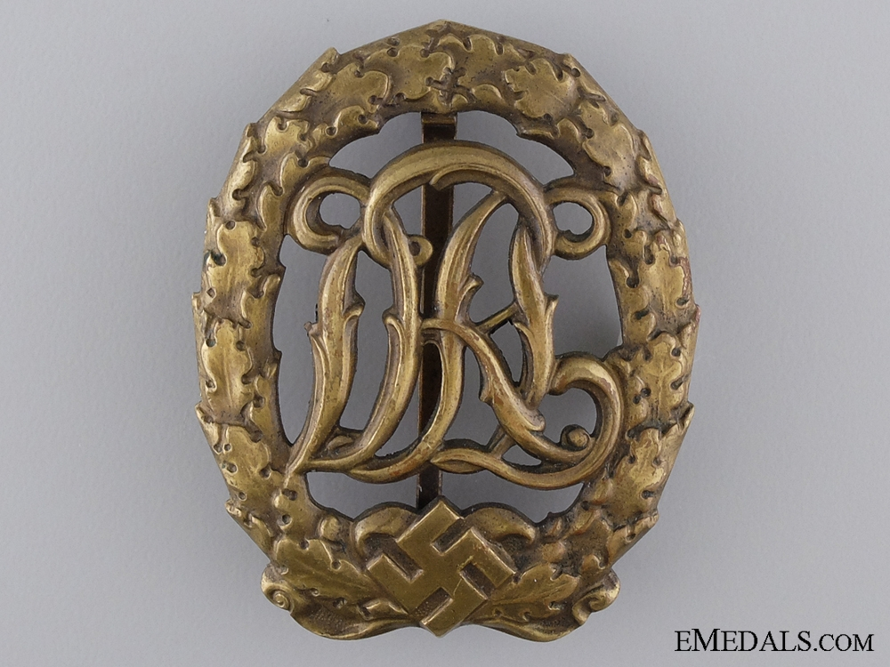 eMedals-A Bronze Grade DRL Sport Badge; Third Model