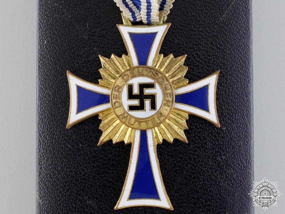 eMedals-A Gold Grade Mother's Cross by C.E.Juncker