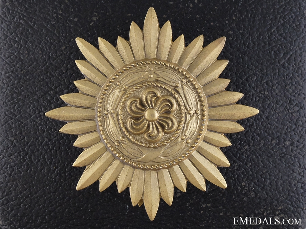 eMedals-A Gold Grade Ostvolk Decoration for Merit on the Eastern Front