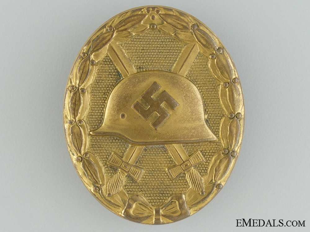 eMedals-A Gold Grade Wound Badge