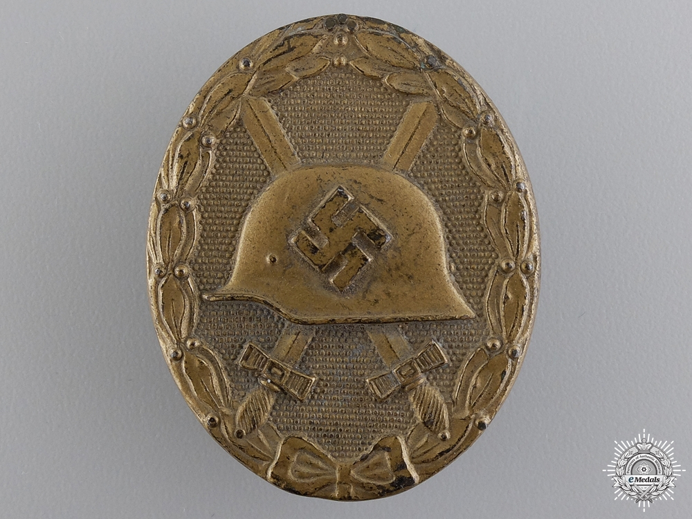 eMedals-A Gold Grade Wound Badge by Klein & Quenzer