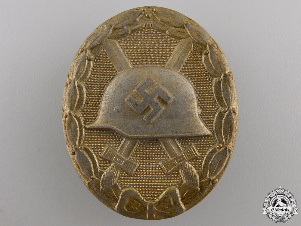 eMedals-A Gold Grade Wound Badge