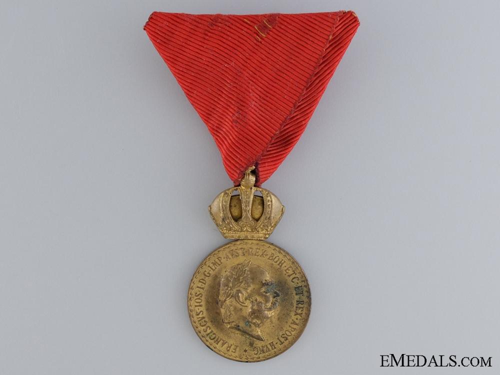 eMedals-A Signum Laudis to Infanterie Equitation 1912-13 Laibach