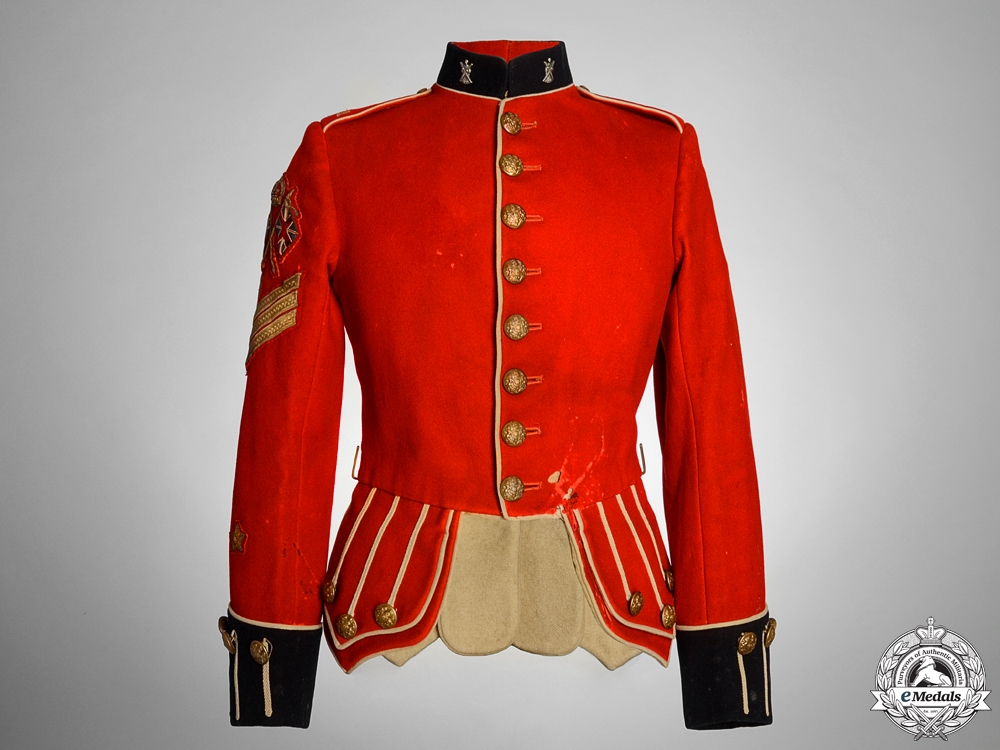 eMedals-A Gordon Highlanders Colour Sergeant Major's Tunic
