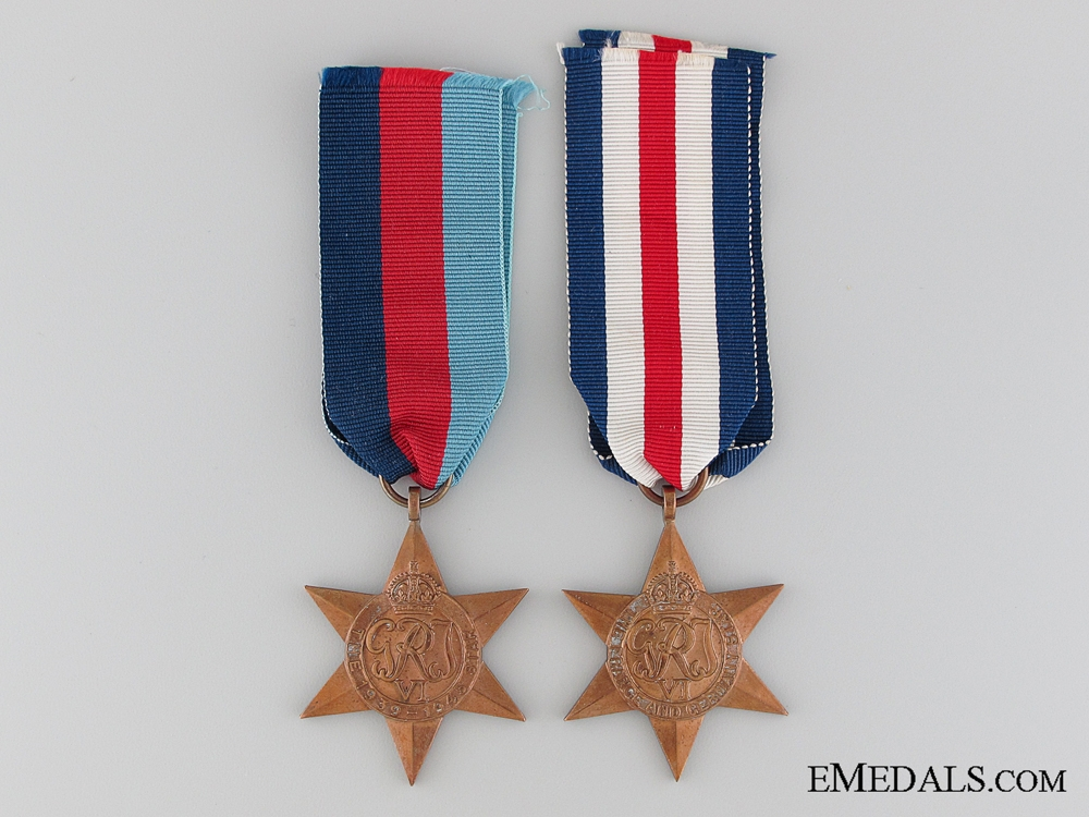 eMedals-A Great Britain WWII Star Pair