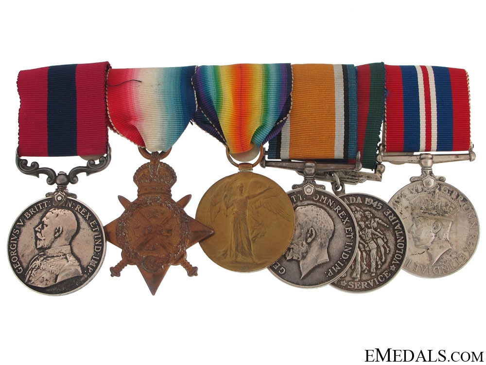 eMedals-A Great War D.C.M. group awarded to the Coldstream Guards