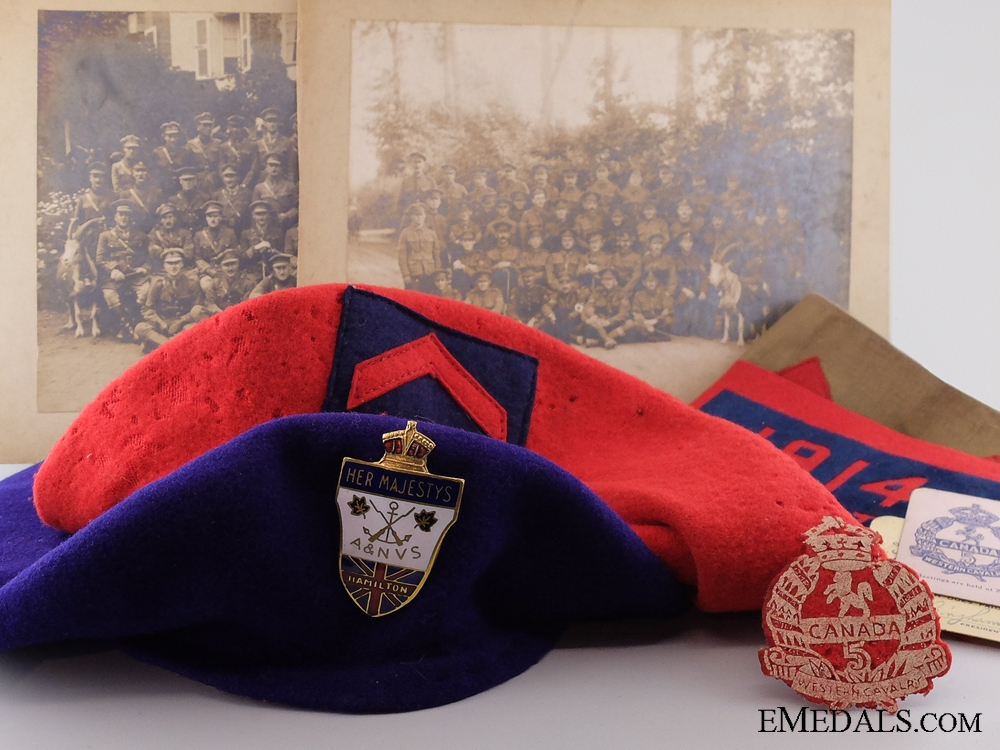 eMedals-A Great War Veteran's Group to the Western Canadian Cavalry
