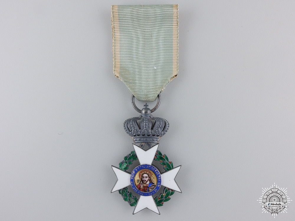 eMedals-A Greek Order of the Redeemer; Knight`s Cross