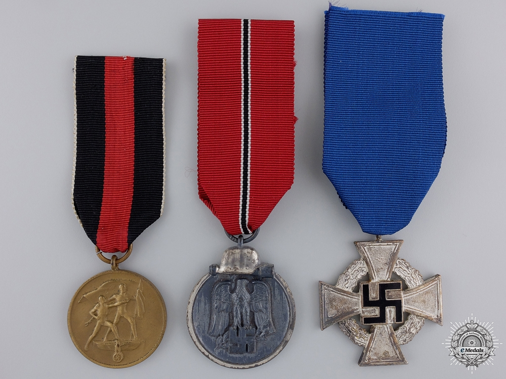 eMedals-A Group of Three Third Reich Awards
