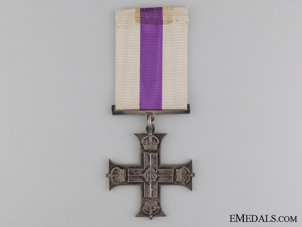 eMedals-A GRV First World War Military Cross; French Made