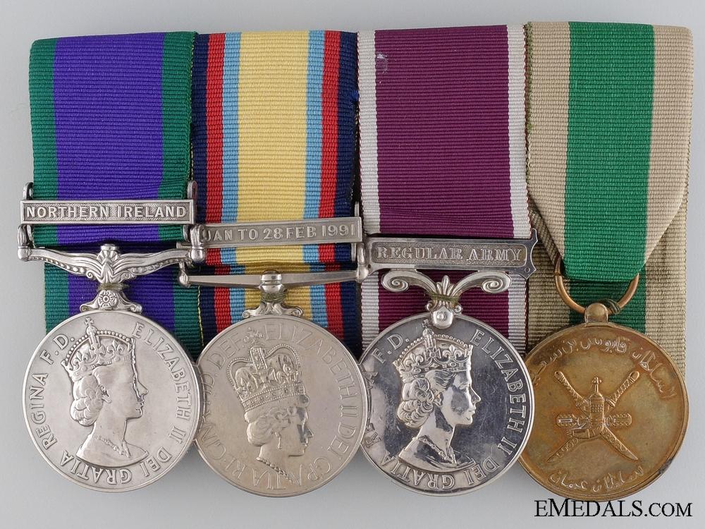 eMedals-A Gulf War Campaign Medal Bar to Major Webb Royal Artillery  consign #20