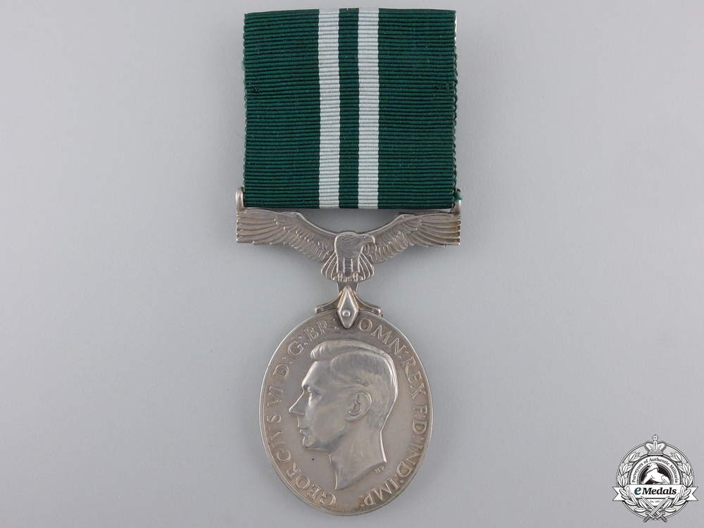 eMedals-A GVI Air Efficiency Medal to the RAFVR