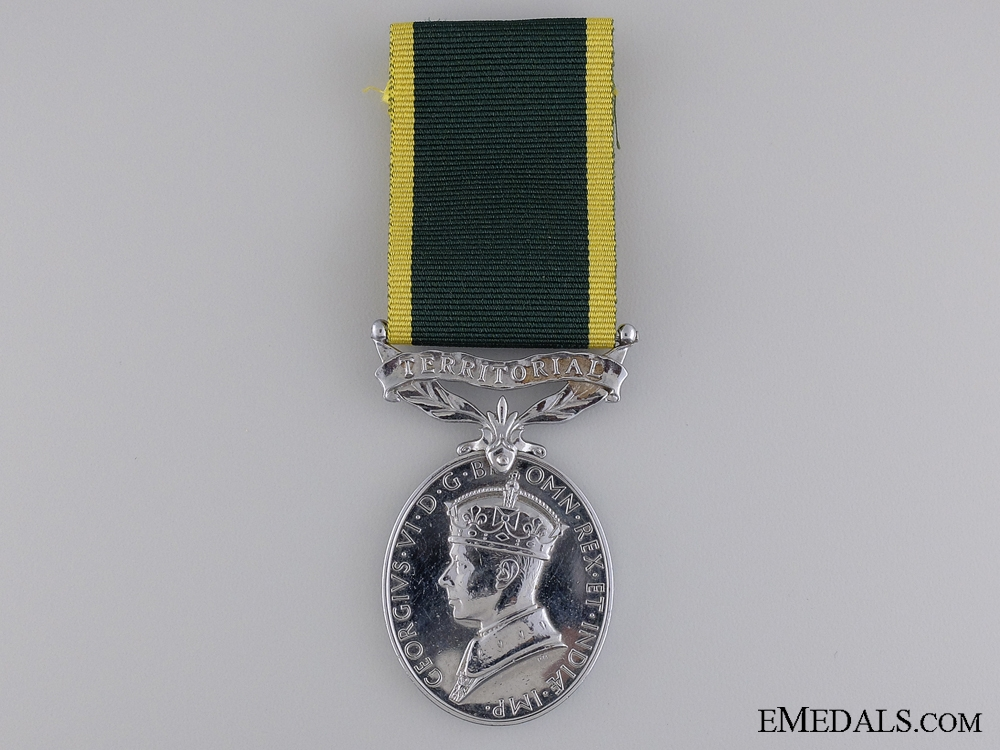 eMedals-A GVI Efficiency Medal to the Royal Signal Corps