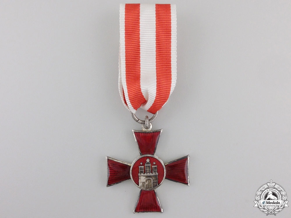 eMedals-A Hamburg Hanseaten Cross