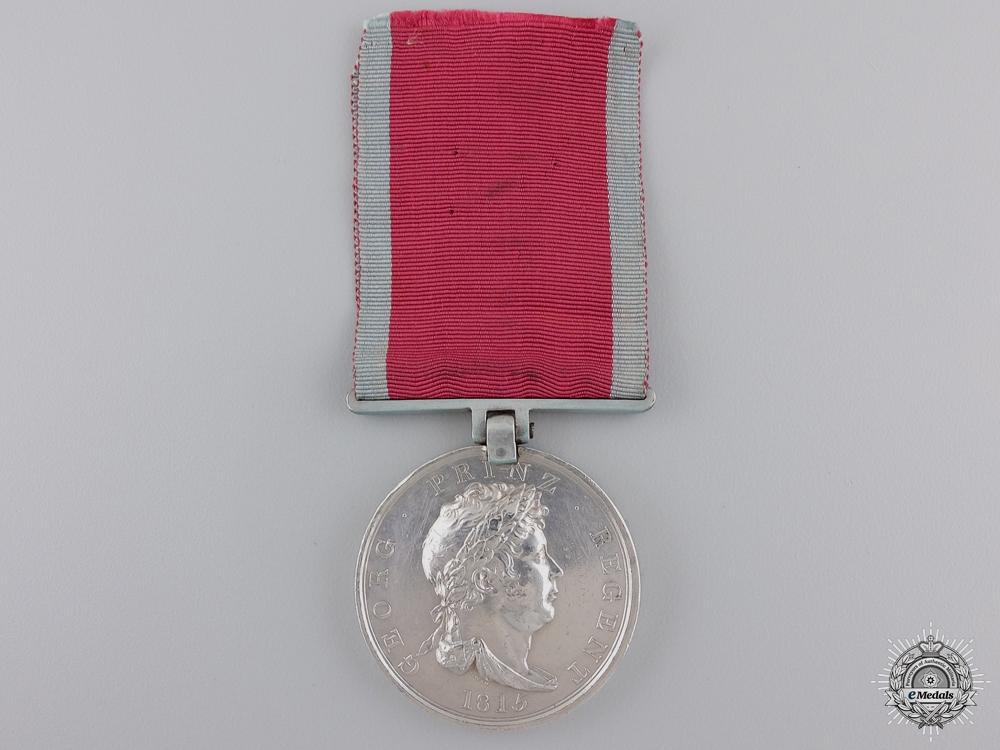 eMedals-A Hanoverian Waterloo Medal to  Landwehr Battalion Verden