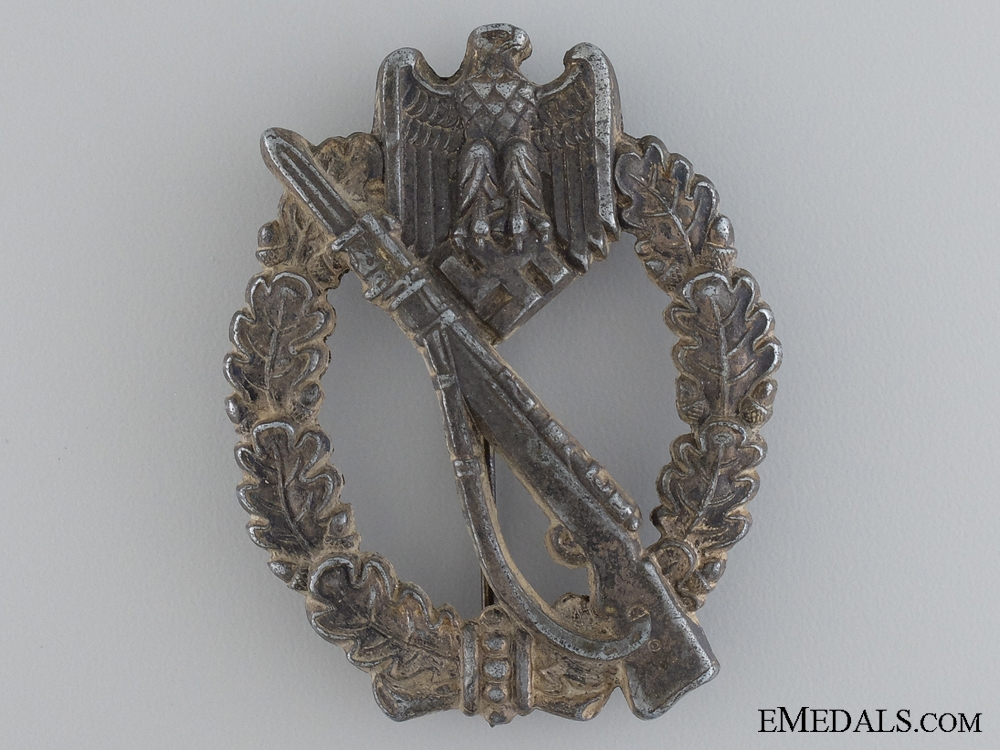 eMedals-A Heer Infantry Badge; Silver Grade